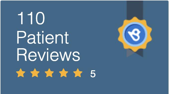 5-star patient reviews